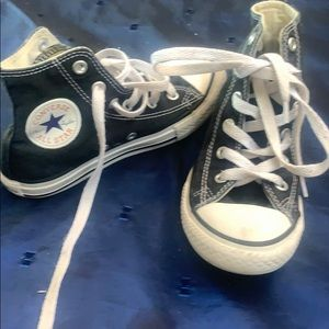 Converse high tops youth size 12